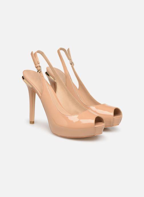 High heels Guess HARTLIE2 Beige 3/4 view