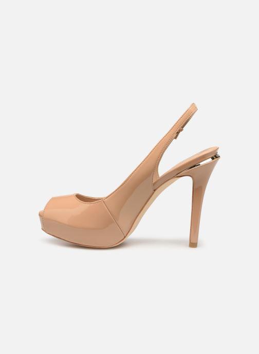 High heels Guess HARTLIE2 Beige front view