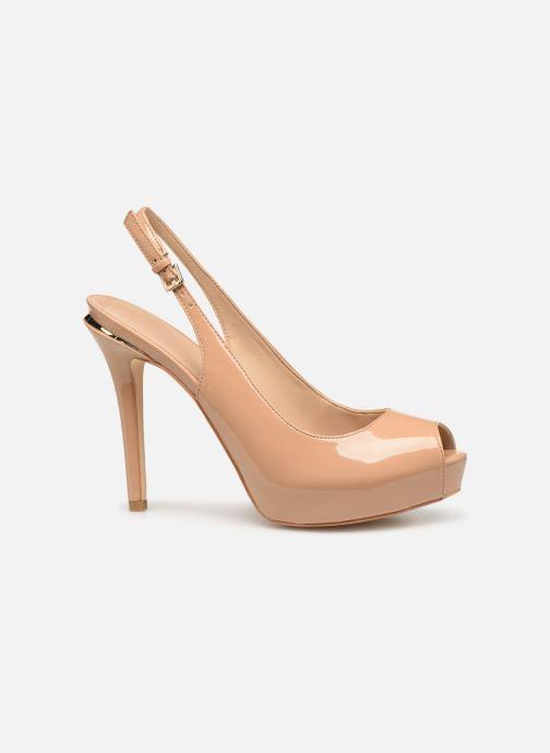 High heels Guess HARTLIE2 Beige back view