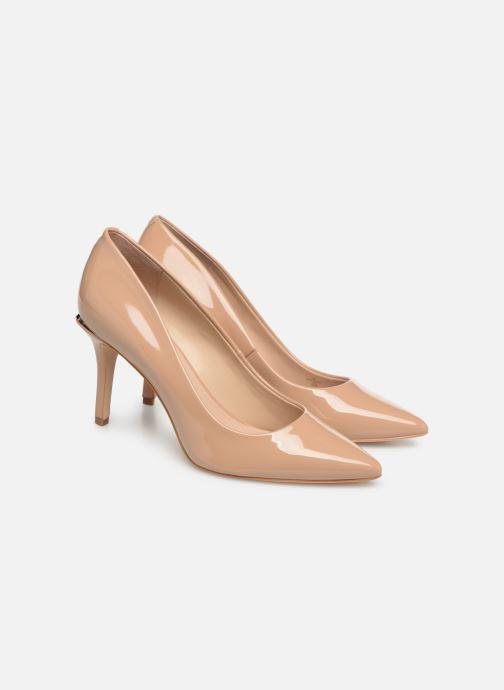 High heels Guess BARETT2 Beige 3/4 view