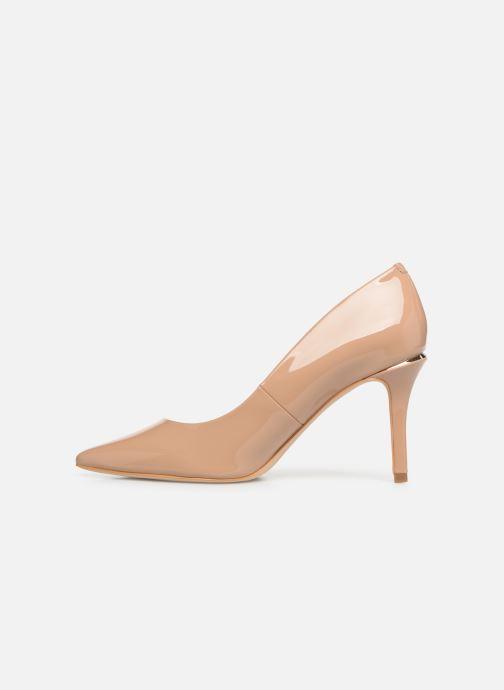 High heels Guess BARETT2 Beige front view