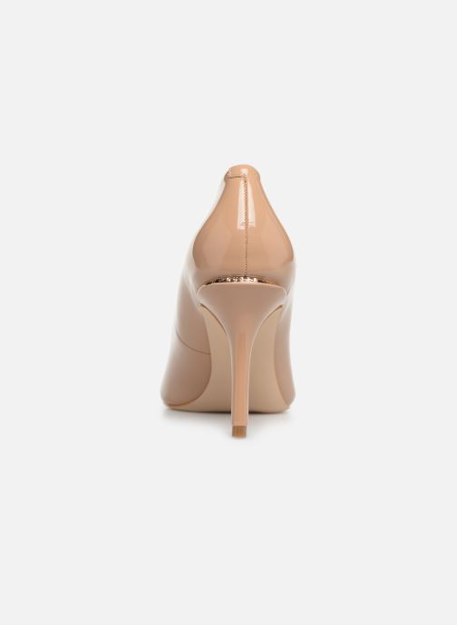High heels Guess BARETT2 Beige view from the right