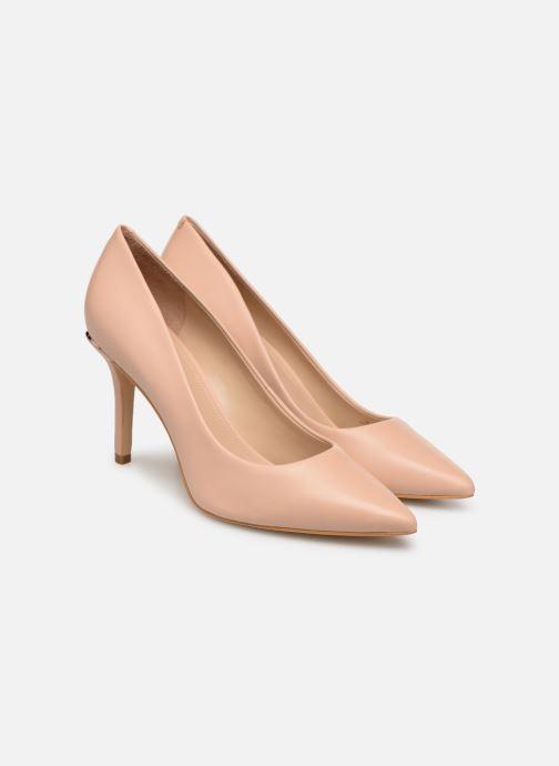 High heels Guess BARETT Beige 3/4 view