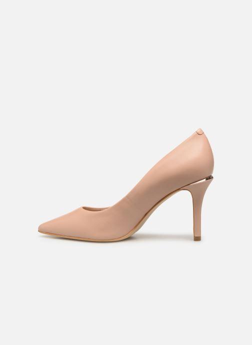 Zapatos de tacón Guess BARETT Beige vista de frente