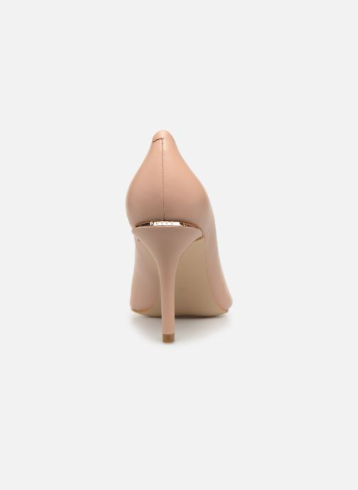 Zapatos de tacón Guess BARETT Beige vista lateral derecha