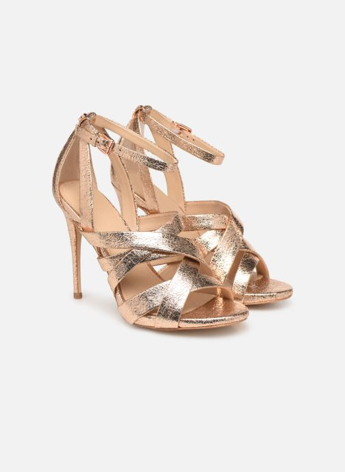 Sandals Guess TAHSHA Bronze and Gold 3/4 view
