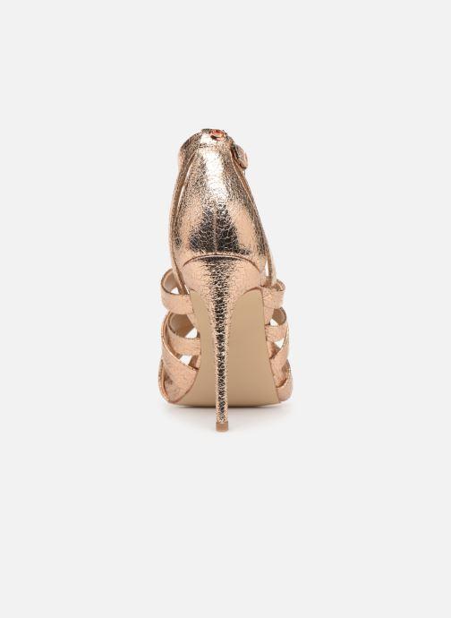 Sandales et nu-pieds Guess TAHSHA Or et bronze vue droite