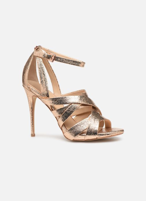 Sandals Guess TAHSHA Bronze and Gold back view