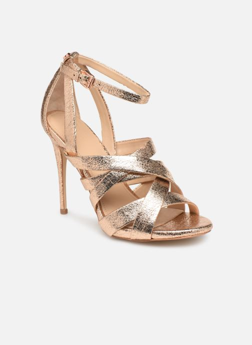 Sandals Guess TAHSHA Bronze and Gold detailed view/ Pair view