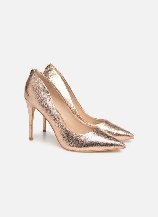Zapatos de tacón Guess OKLEY3 Rosa vista 3/4