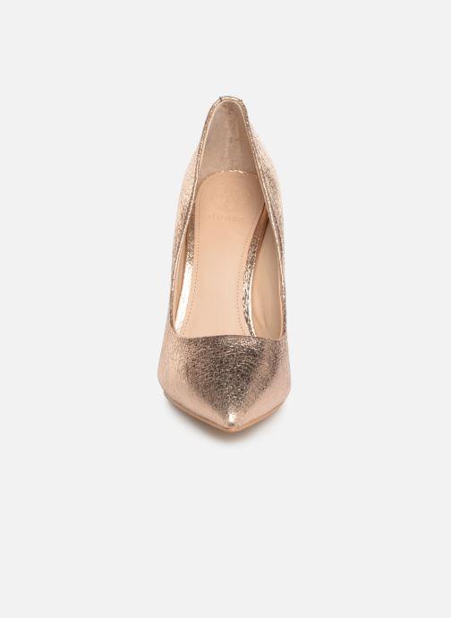 Escarpins Guess OKLEY3 Rose vue portées chaussures