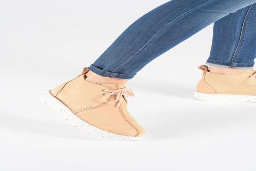 Boots en enkellaarsjes Clarks Originals TREK HEIGHTS W Roze onder