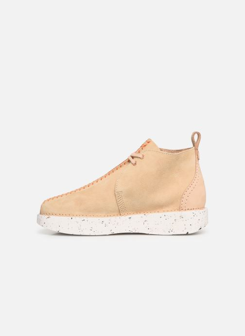 Botines  Clarks Originals TREK HEIGHTS W Rosa vista de frente