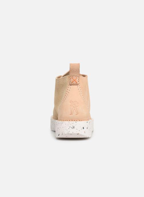 Boots en enkellaarsjes Clarks Originals TREK HEIGHTS W Roze rechts