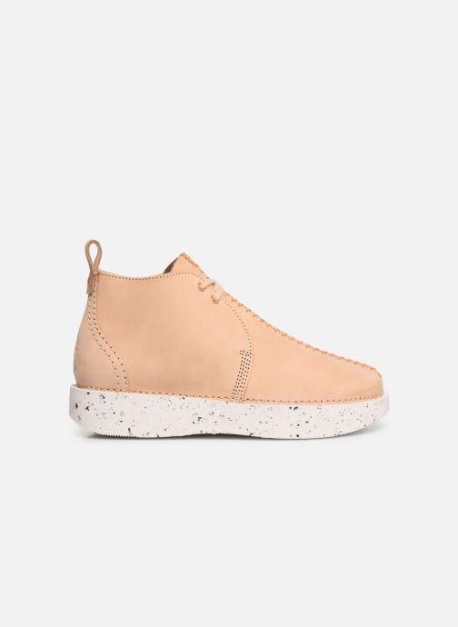 Boots en enkellaarsjes Clarks Originals TREK HEIGHTS W Roze achterkant