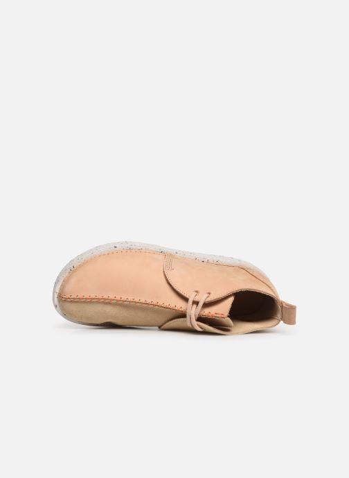 Boots en enkellaarsjes Clarks Originals TREK HEIGHTS W Roze links