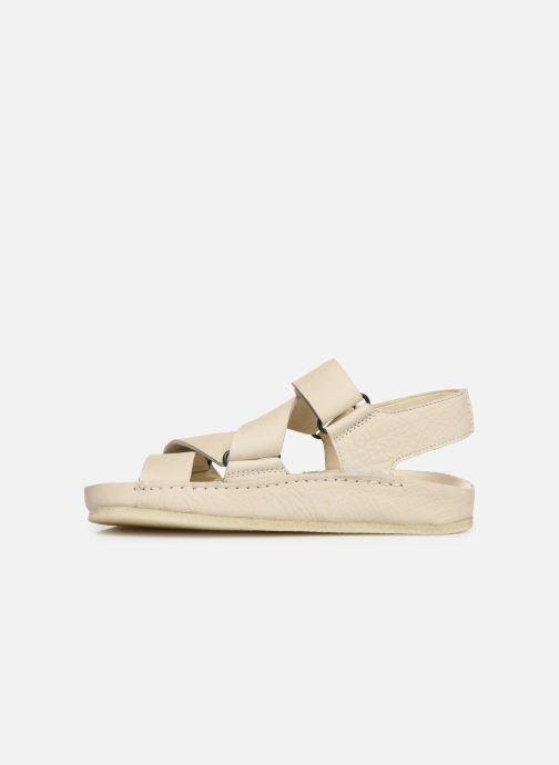 Sandales et nu-pieds Clarks Originals RANGER SPORT. W Blanc vue face
