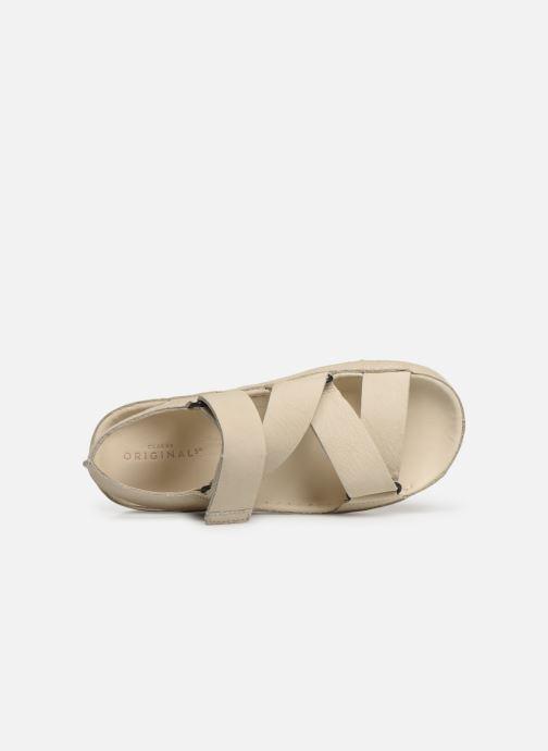Sandales et nu-pieds Clarks Originals RANGER SPORT. W Blanc vue gauche