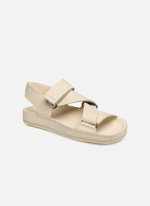 Sandales et nu-pieds Clarks Originals RANGER SPORT. W Blanc vue détail/paire