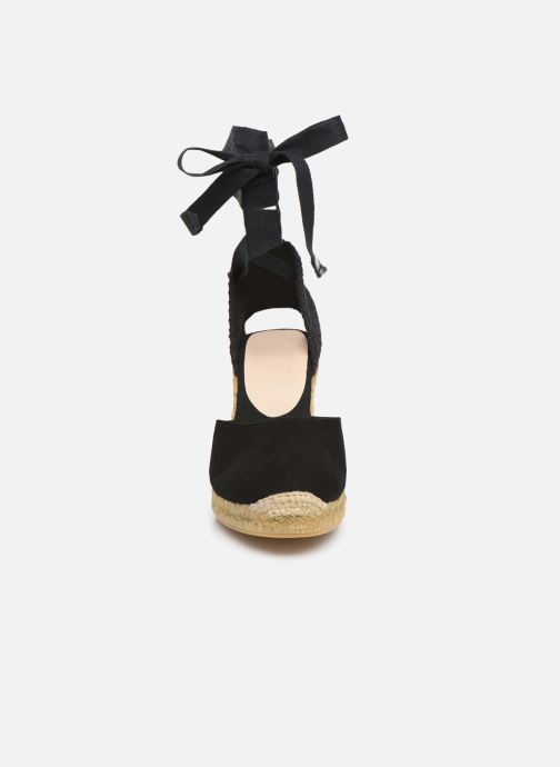 Espadrilles Aldo MUSCHETT Noir vue portées chaussures