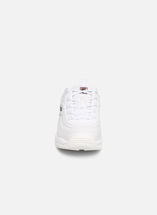 Baskets FILA Ray Low Blanc vue portées chaussures