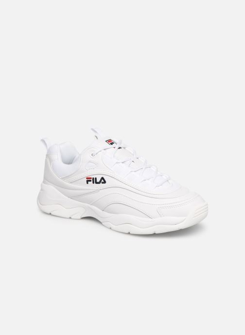 Baskets FILA Ray Low Blanc vue détail/paire