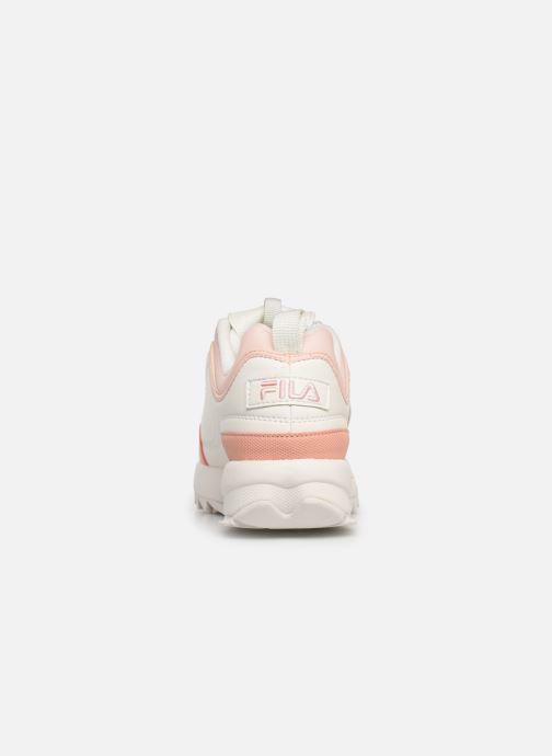 Baskets FILA Disruptor Cb Low Wmn Blanc vue droite