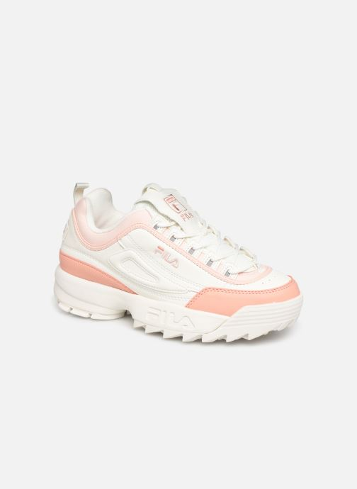 chaussure fila disruptor femme beige