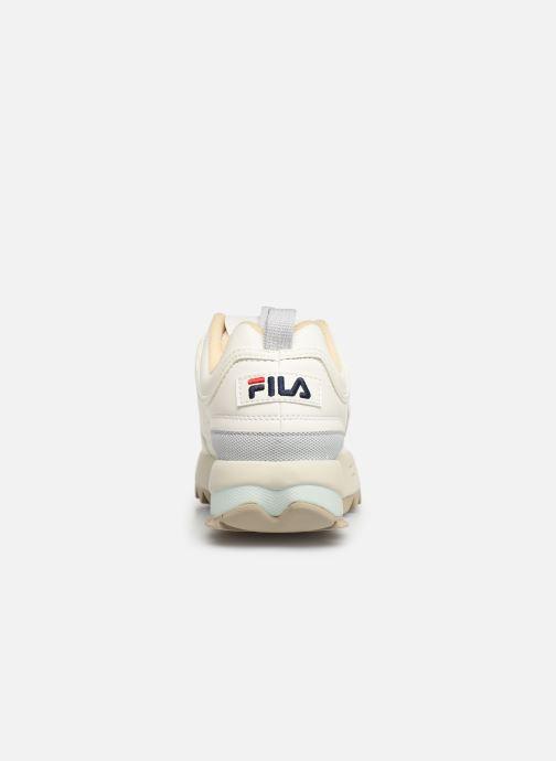 Baskets FILA Disruptor Cb Low Wmn Beige vue droite