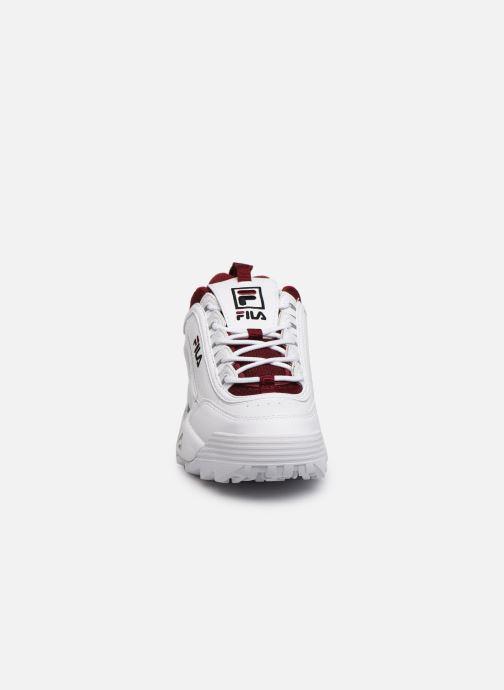 Baskets FILA Disruptor Cb Low Wmn Blanc vue portées chaussures