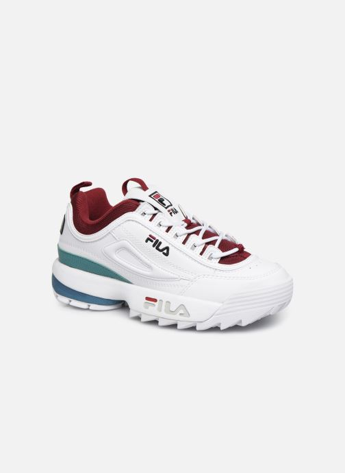 Baskets FILA Disruptor Cb Low Wmn Blanc vue détail/paire