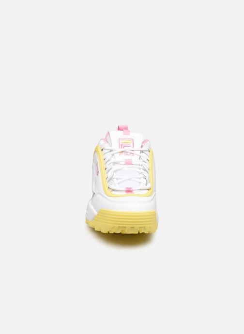 Sneaker FILA Disruptor Cb Low Wmn weiß schuhe getragen