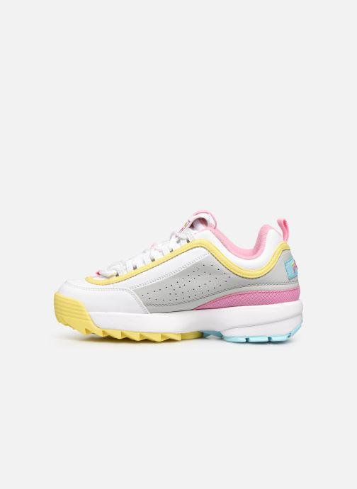 FILA Disruptor Cb Low Wmn (Wit) - Sneakers  Wit (White / Limelig) - schoenen online kopen