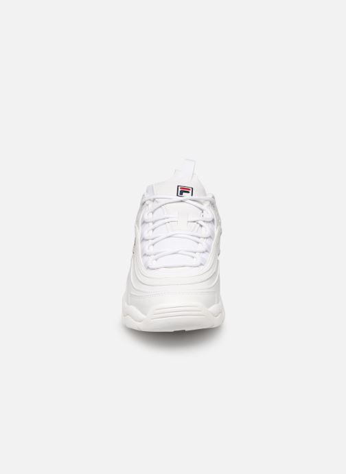 Baskets FILA Ray Low Wmn Blanc vue portées chaussures