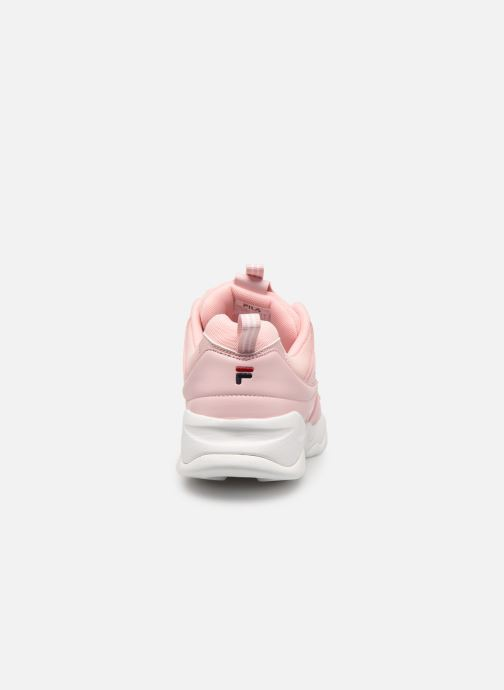 Baskets FILA Ray F Low Wmn Rose vue droite
