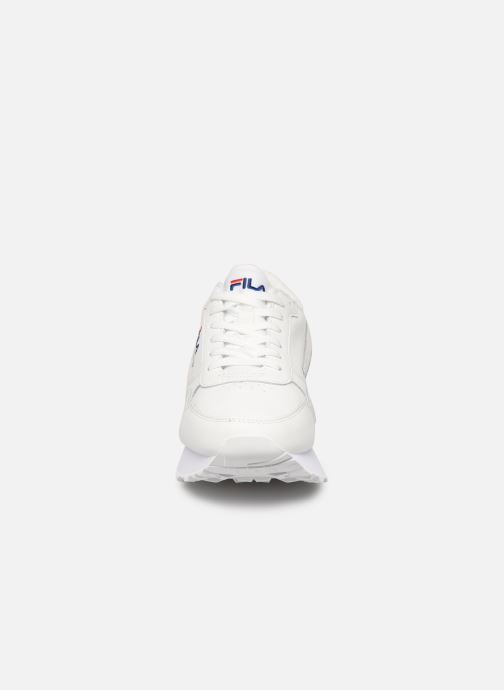 Sneaker FILA Orbit Zeppal L Wmn weiß schuhe getragen