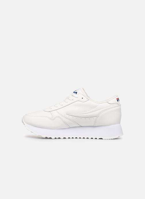 Sneaker FILA Orbit Zeppal L Wmn weiß ansicht von vorne