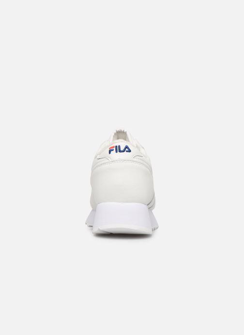 Sneaker FILA Orbit Zeppal L Wmn weiß ansicht von rechts