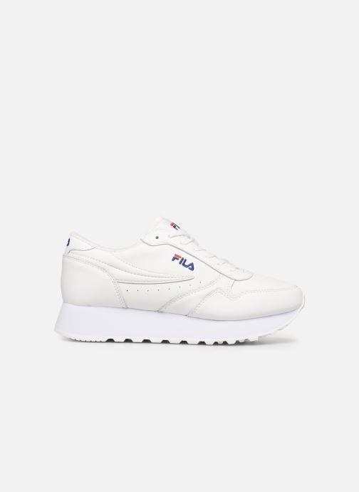 Sneaker FILA Orbit Zeppal L Wmn weiß ansicht von hinten