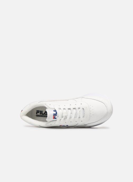 Sneaker FILA Orbit Zeppal L Wmn weiß ansicht von links