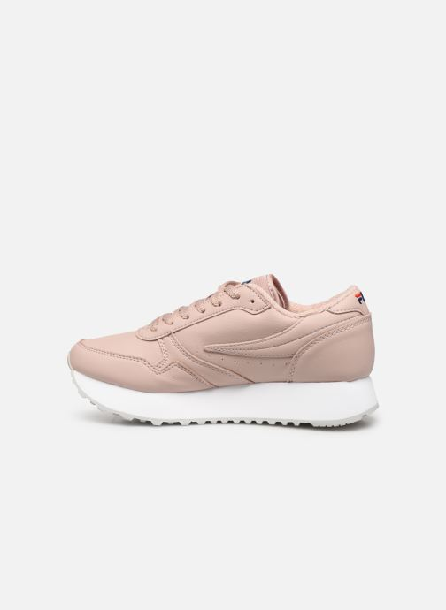 Baskets FILA Orbit Zeppal L Wmn Rose vue face