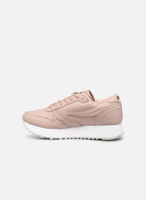 Sneaker FILA Orbit Zeppal L Wmn rosa ansicht von vorne