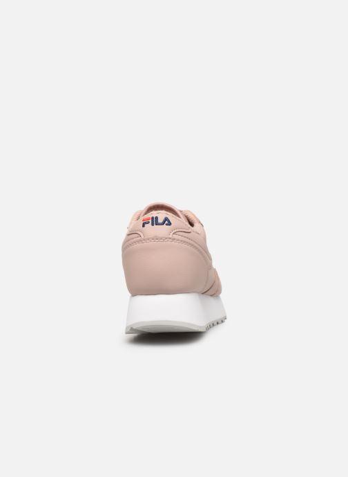 Sneaker FILA Orbit Zeppal L Wmn rosa ansicht von rechts