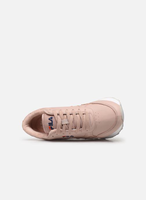 Sneaker FILA Orbit Zeppal L Wmn rosa ansicht von links