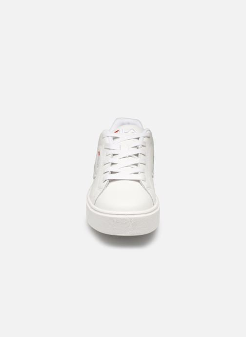 Trainers FILA Overstate L Low Wmn White model view