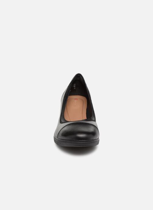 Escarpins Clarks Unstructured UN TALLARA LIZ Noir vue portées chaussures