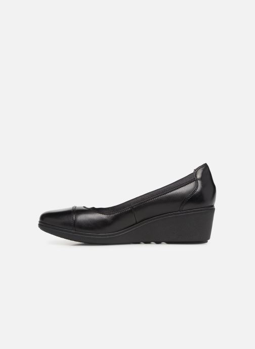 Liz Un Unstructured Leather Tallara Black Clarks iuTXZOPk
