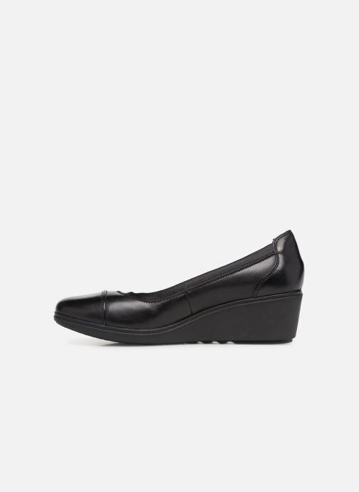 Zapatos de tacón Clarks Unstructured UN TALLARA LIZ Negro vista de frente