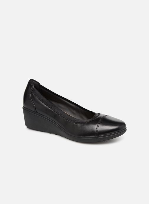Zapatos de tacón Clarks Unstructured UN TALLARA LIZ Negro vista de detalle / par
