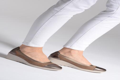 Zapatos de tacón Clarks Unstructured UN TALLARA LIZ Rosa vista de abajo